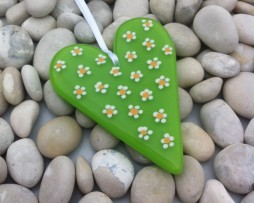 Daisy heart lime