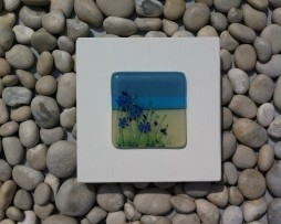 Agapanthus 12 by 12 Panel