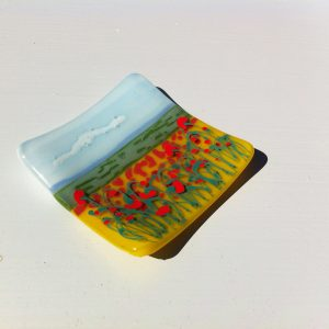Poppy Field Dish